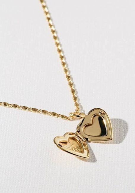 Heart Locket Ketting